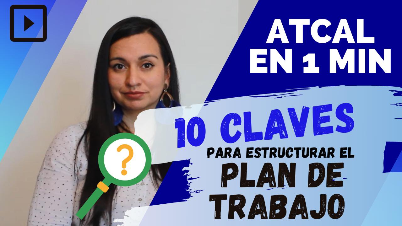 📅 ¿Qué elementos debes tener en cuenta para estructurar el PLAN DE TRABAJO de tu empresa?🔍